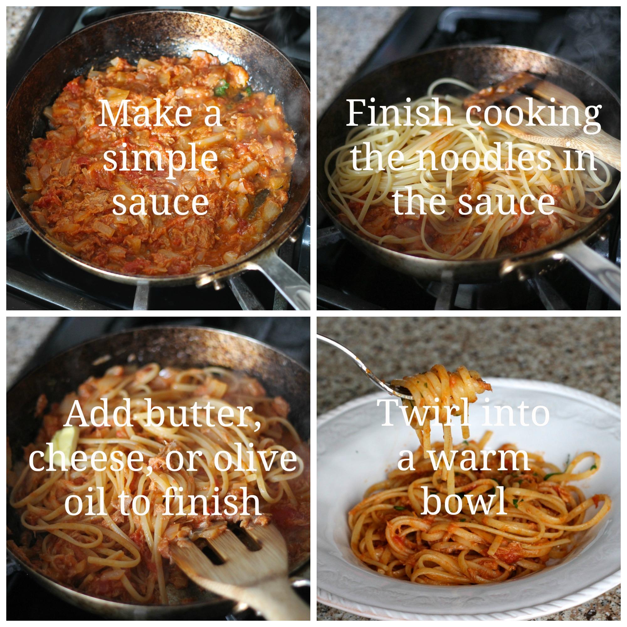 Pasta With Tuna And Tomato Sauce Recipes — Dishmaps