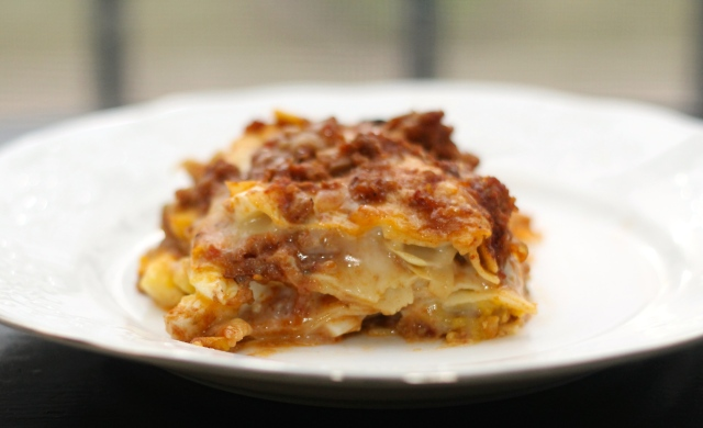 Because Food is Life | Spring Vegetable and Meat Lasagna