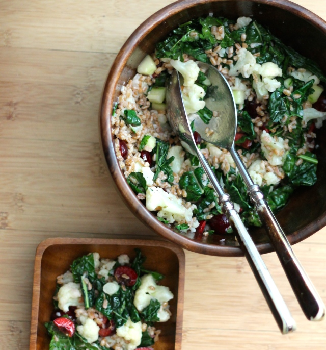 Kale and Farro Salad | Because Food is Life