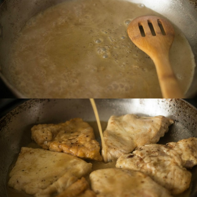 My Mother's Chicken Picatta | becausefoodislife.com