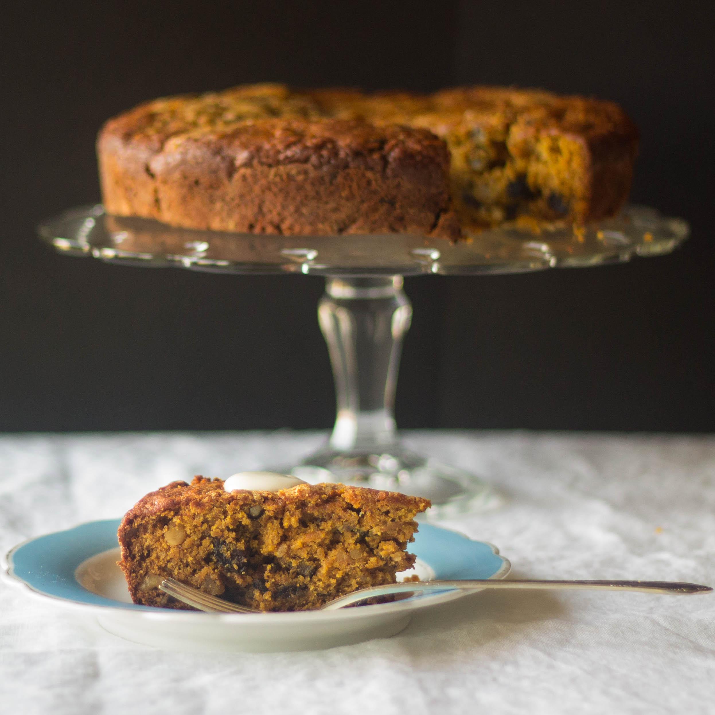 Pumpkin Puree Spice Cake Dense